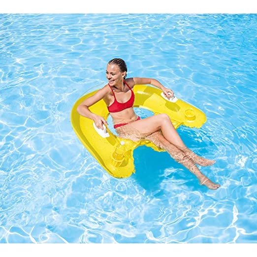 Amazon.com: Salón inflable Intex Sit N Float, 60 ...
