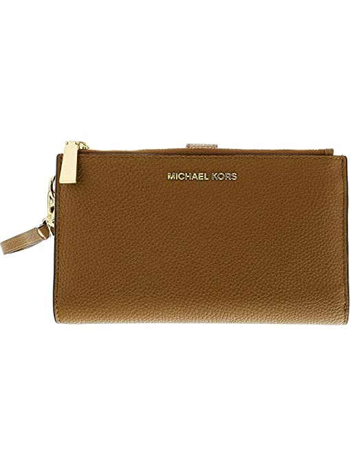MIchael Kors Cartera Double Zip Wristlet 32T7GAFW4L: Amazon ...