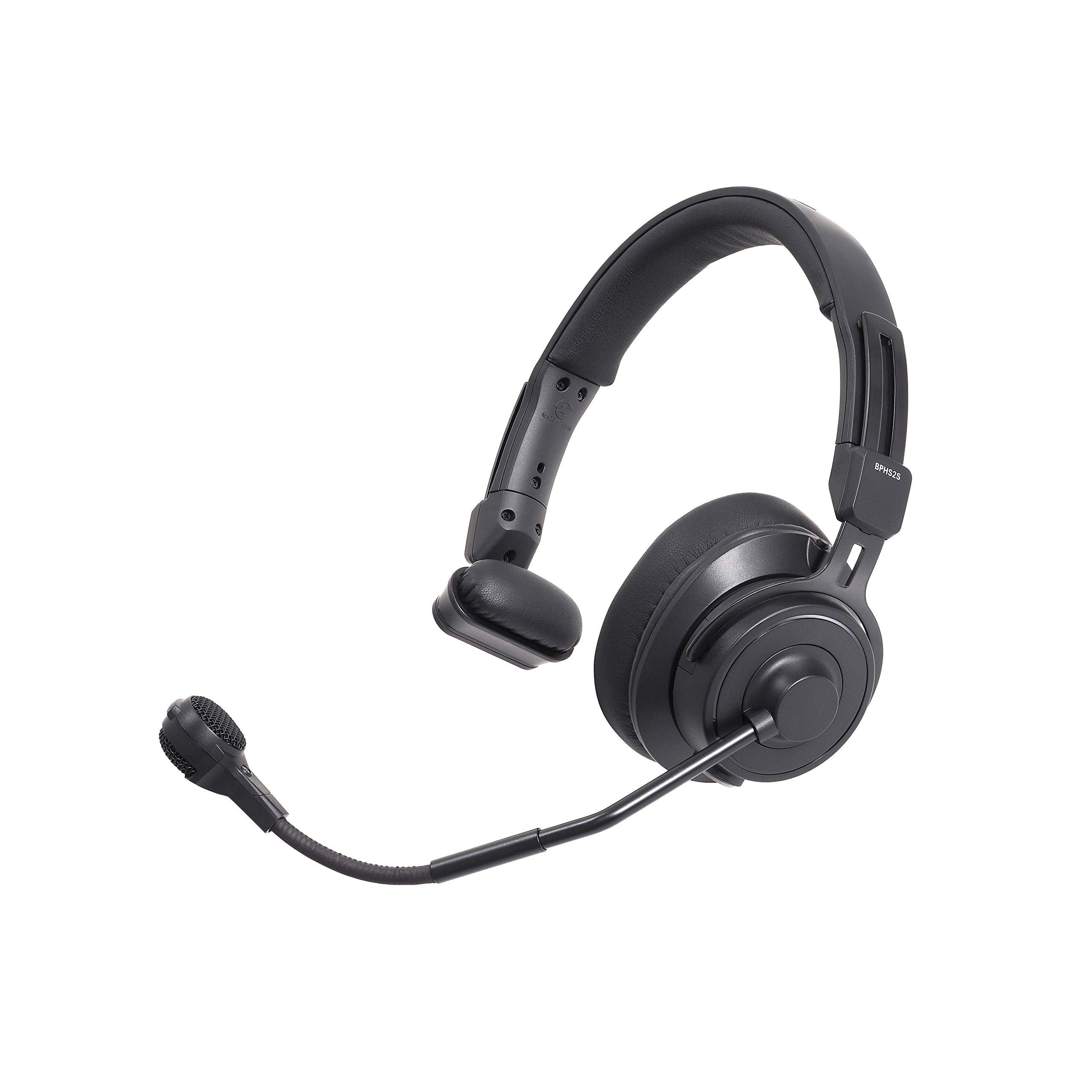 Auriculares Audio-Technica BPHS2S-UT Single-Ear Broadcast He