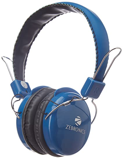 a897e638b03 Image Unavailable. Image not available for. Colour: Zebronics Bluetooth  Headphone ...