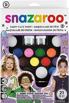 Snazaroo Ultimate Party Pack - Set de Maquillaje de Fiesta ...