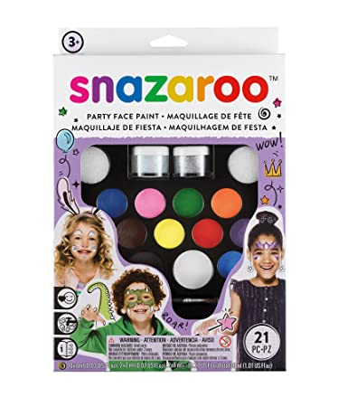 Amazon Com Snazaroo Face Paint Ultimate Party Pack