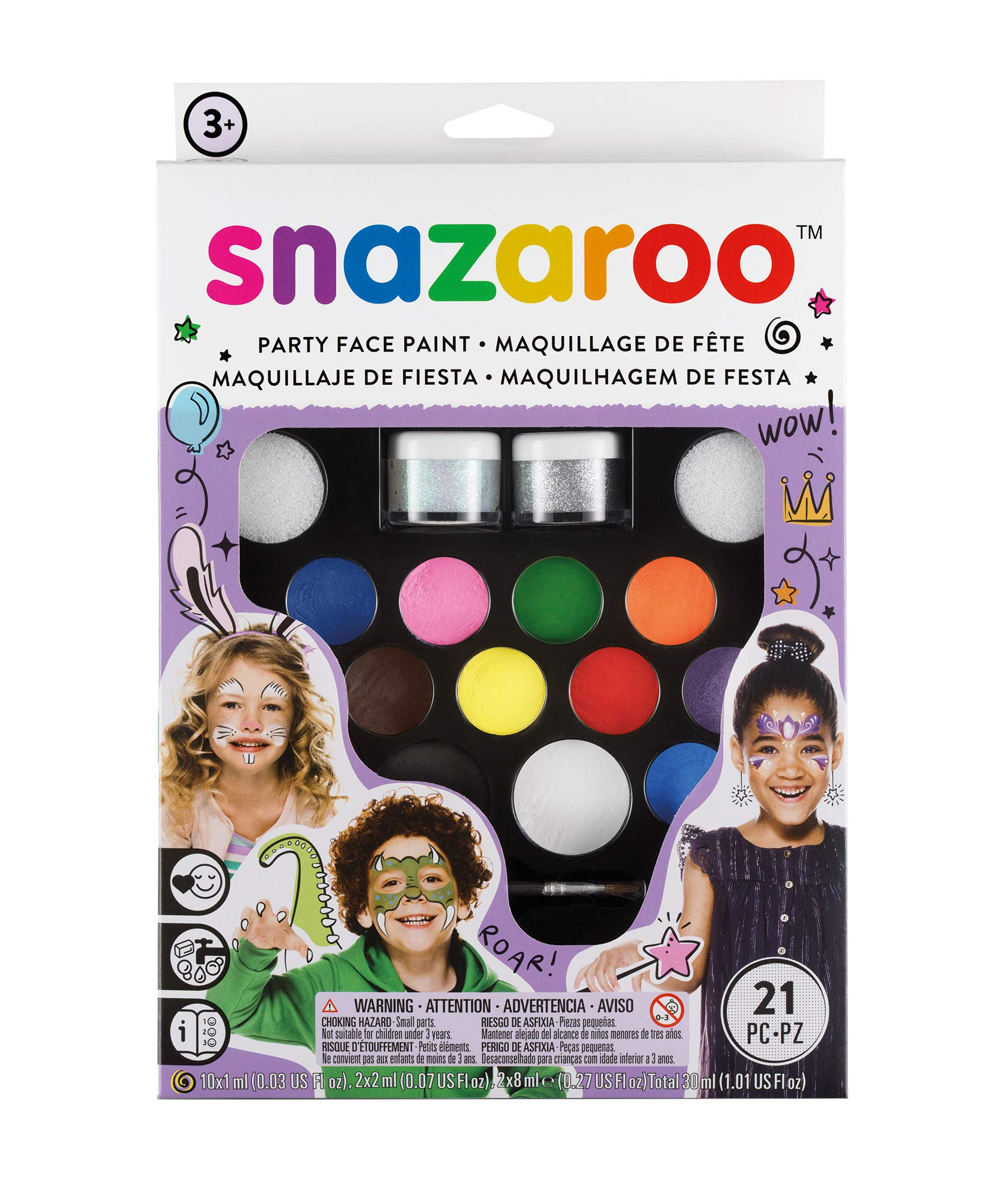 Snazaroo - Set lo último de Pintura Facial - Face Paint Ultimate Party Pack product image