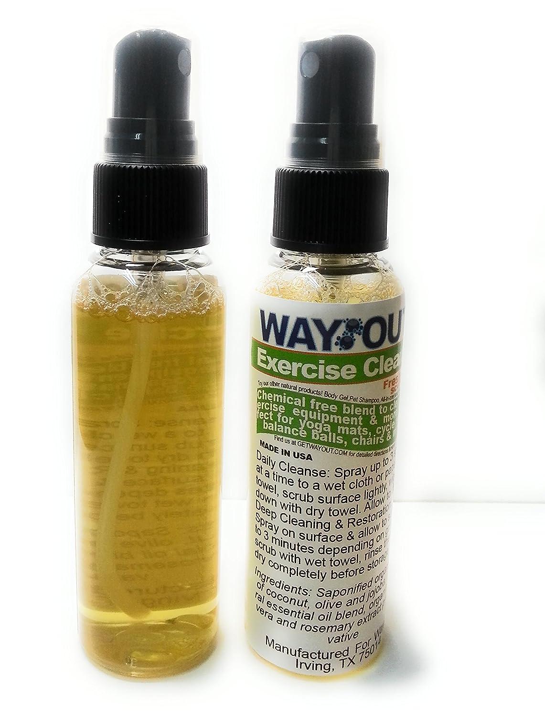 wayout. Natural Yoga Ejercicio Mat desinfección limpiador en ...