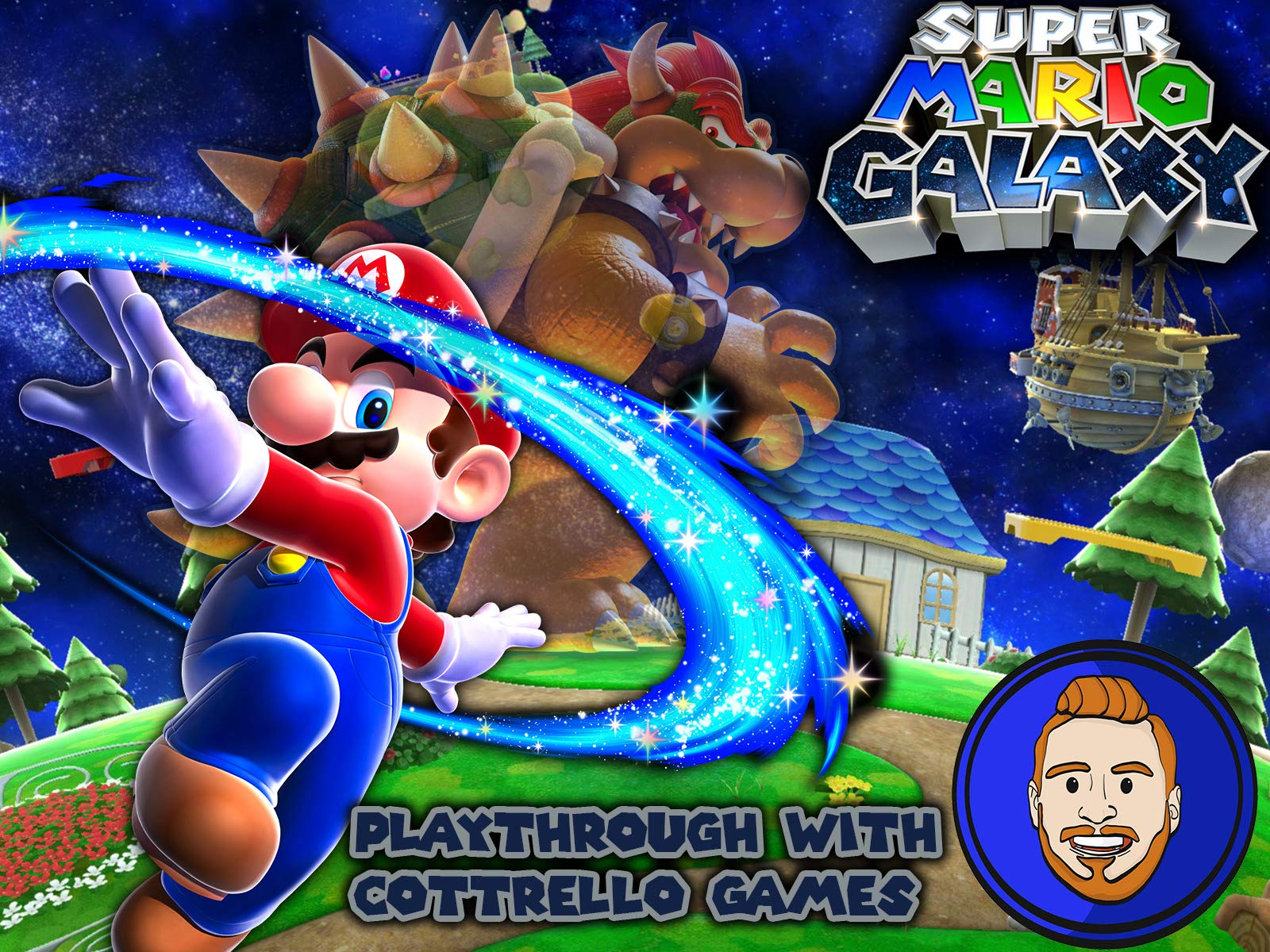 Super Mario Galaxy Playthrough with Cottrello Games