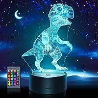 ATOPDREAM Lámpara de Dinosaurio para Niños - Regalos y Juguetes