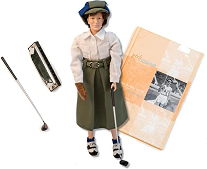 "12/""Babe Didrikson Zaharias Athlete Olympic//golfer GIRLS EXPLORE Collectible Doll"