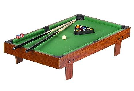 TAVOLO Da BILIARDO PALLE Da Snooker E Pool 92 x 51 x 20 Pool GIOCO ...