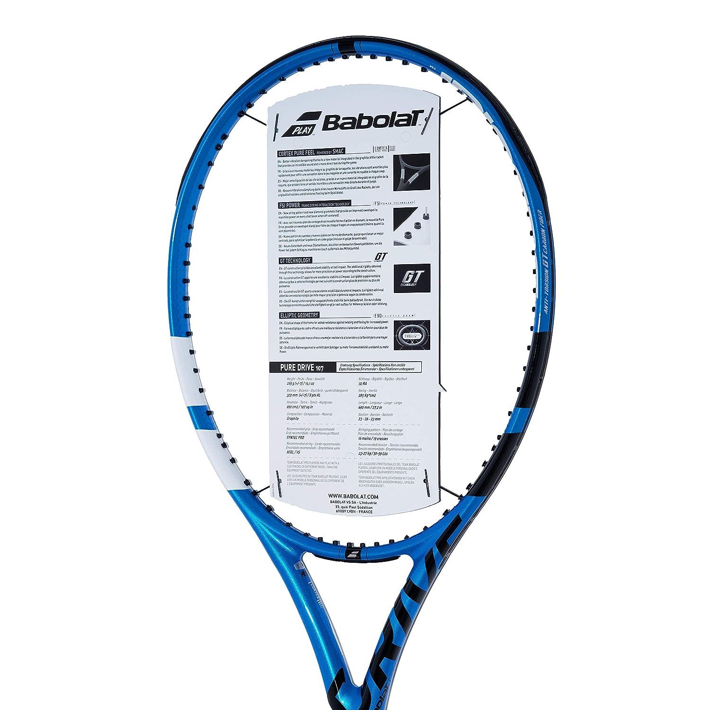 Amazon.com : [VUTENNISCOM] Babolat Pure Drive 107 Tennis ...