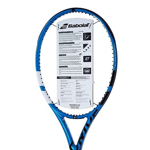 Amazon.com : [VUTENNISCOM] Babolat Pure Drive 107 Tennis Racquet - Customize String : Sports & Outdoors