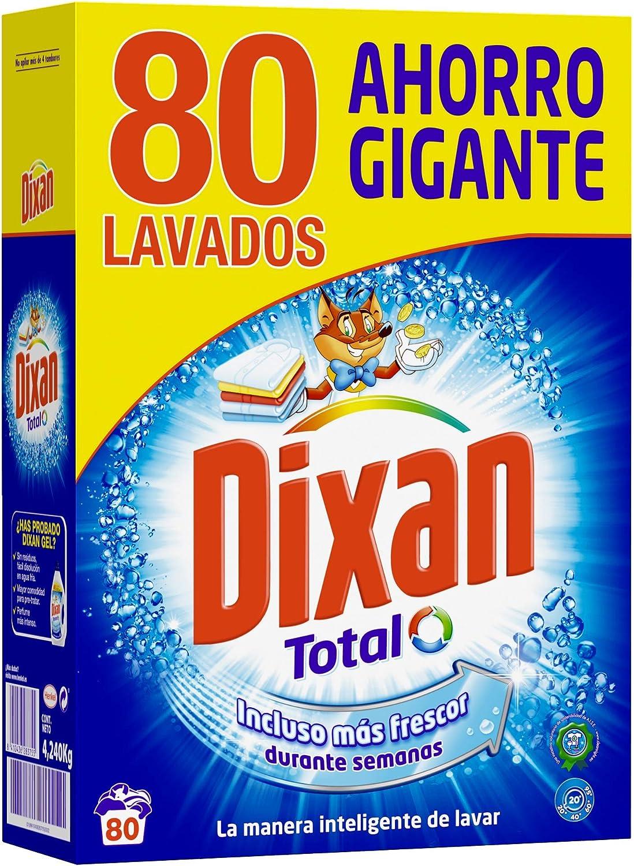 Dixan Detergente en Polvo - 80 Lavados (4,4 Kg)