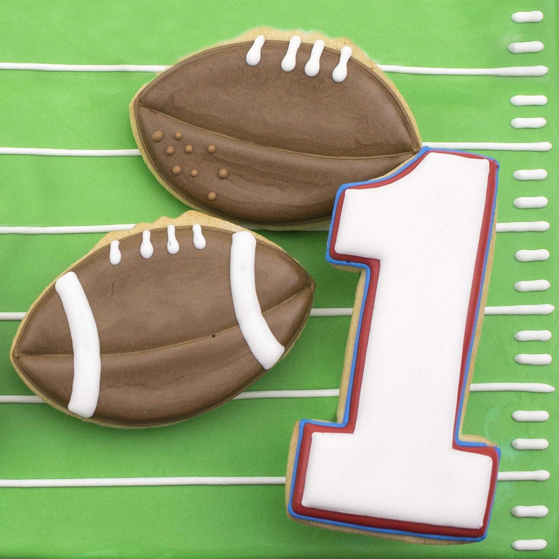 3.5 Ann Clark Cookie Cutters Football Cookie Cutter