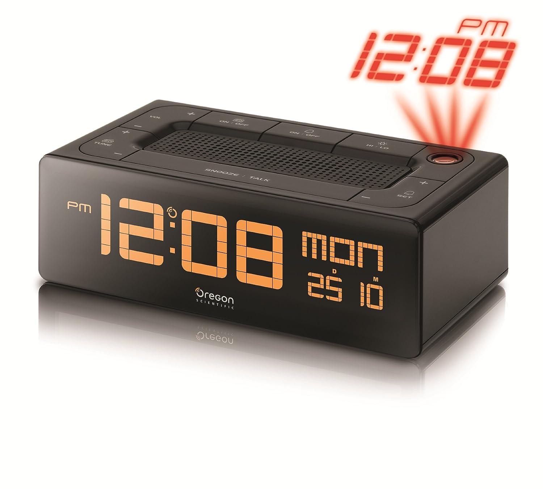 Oregon Scientific EC-101 - Radio reloj proyector con voz, función ...
