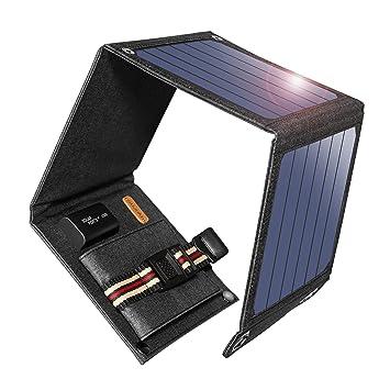 SUAOKI Cargador Solar: Amazon.es: Electrónica