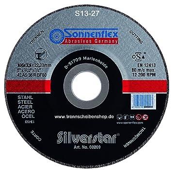 Bekannt 10x Trennscheibe, S25_Ø 230 x 3,0 mm Sonnenflex Stahl, Metall, Guß WX92