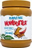 Wowbutter Natural Peanut Free Creamy 2x4.4lb Jars