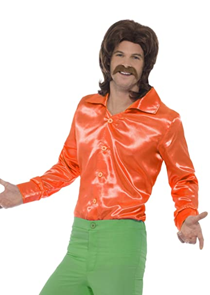Smiffys Smiffys-44909M Camisa años 60, para Hombre, Color ...