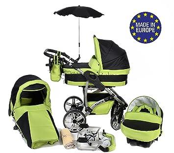 Twing - Sistema de viaje 3 en 1, silla de paseo, carrito con capazo