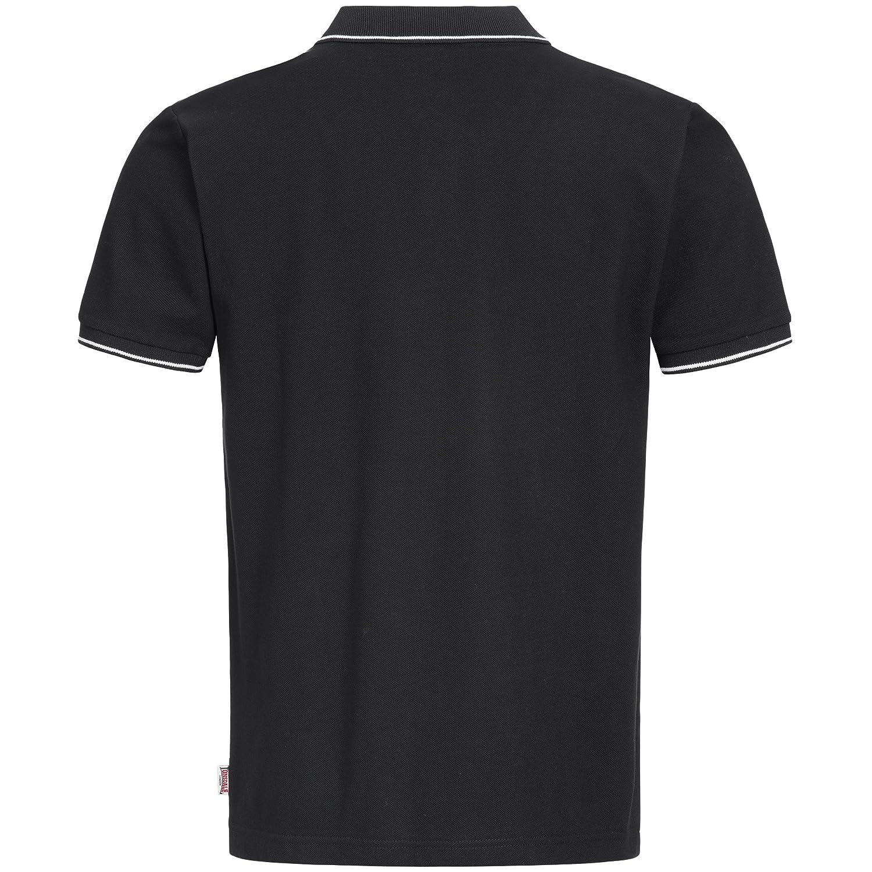 Lonsdale Mens Polo Shirt Baughurst, Größe:3XL, Farbe:Black ...