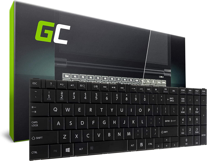 Green Cell/® Toshiba Satellite C50D-A-10W C50D-A-10Z C50D-A-11L C50D-A-11Q C50D-A-11R C50D-A-12R C50D-A-12U C50D-A-13E Laptop Keyboard US QWERTY