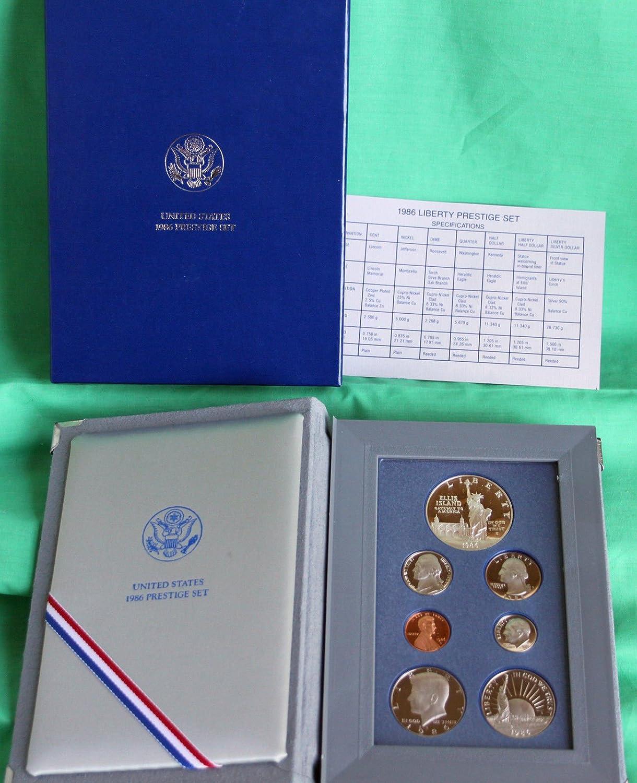 1996 United States Mint ANNUAL 5 Coin Proof Set Original Box and COA
