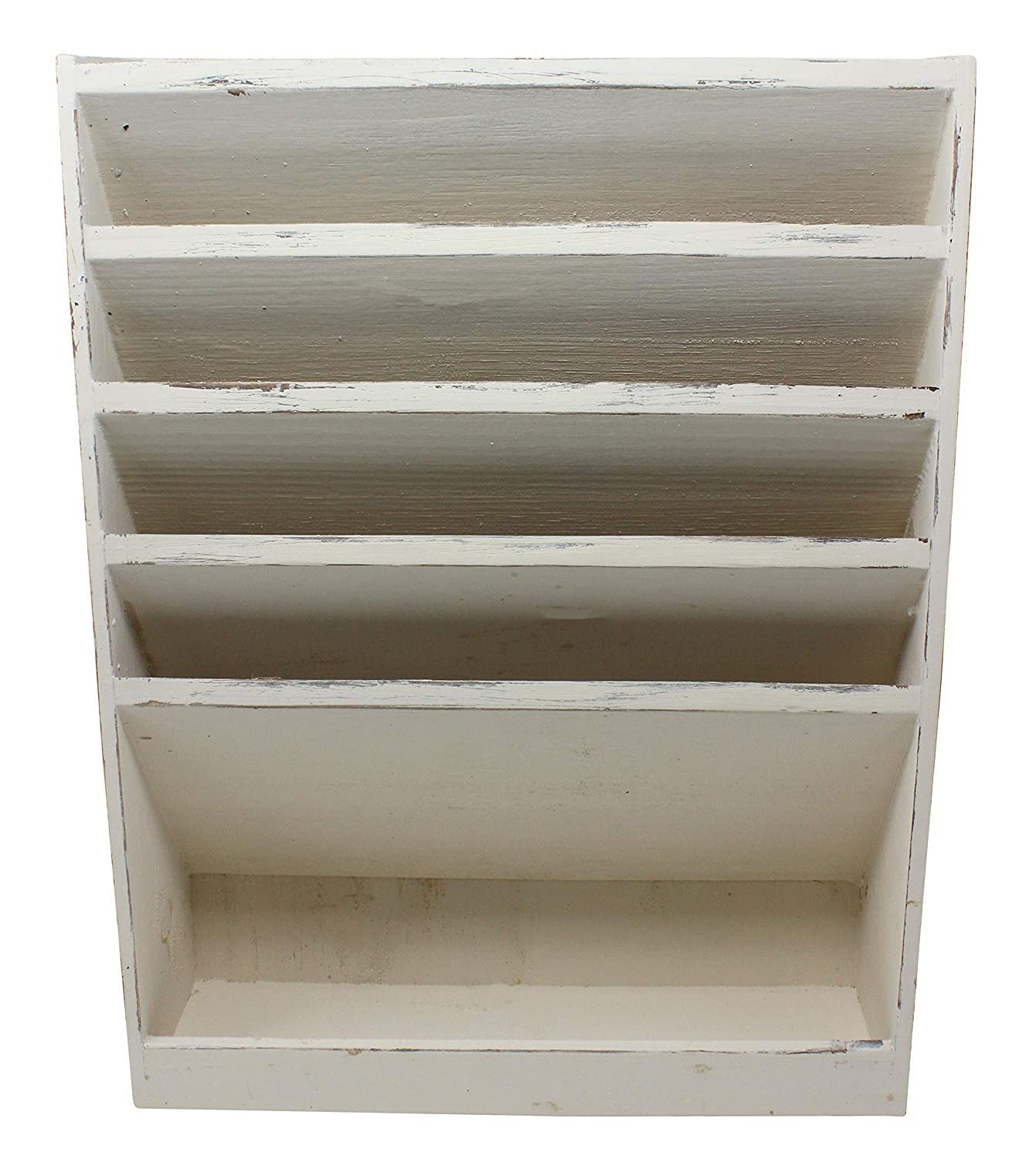 Wall mounted office desk Full Length Wall Vintage Rustic White Washed Wooden Slot Office Desk Or Wall Mounted Hanging File Document Organizer Mail Rack Tray Distressed Torched Wood Finish Amazoncom Amazoncom Vintage Rustic White Washed Wooden Slot Office Desk