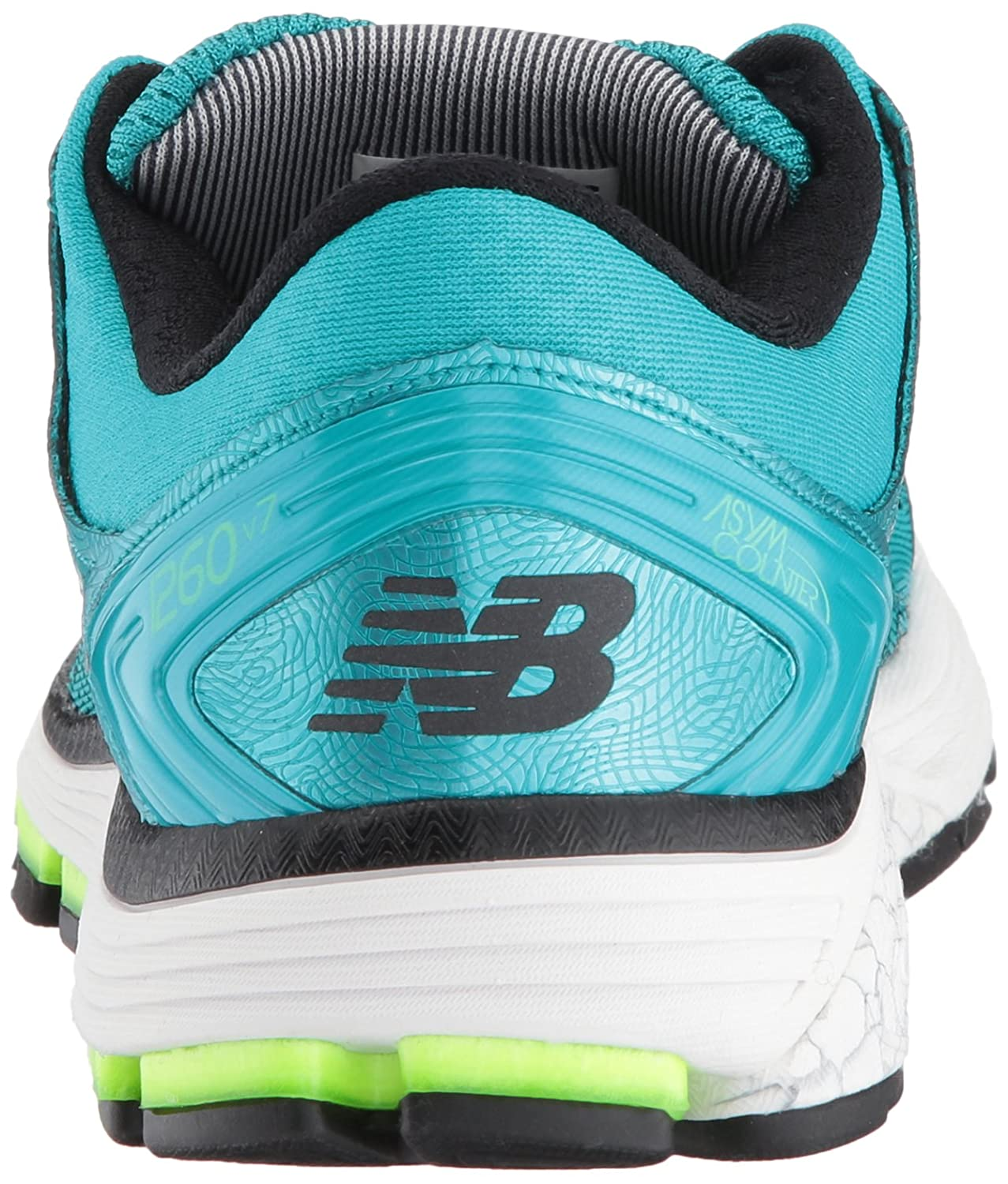 New Balance Women's 1260v7 Running Shoe B01N1I07X3 13 B(M) US|Pisces Blue/Lime Glo