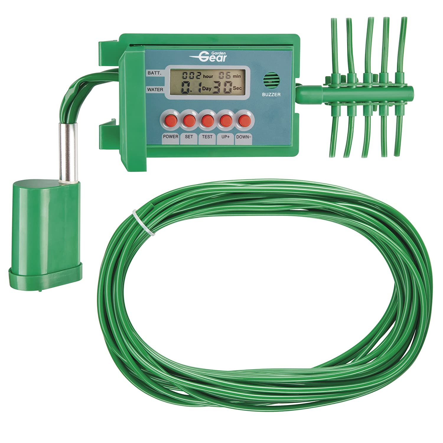 Garden Gear Automatic Watering Timer Garden Irrigation System 10m for Plants, Greenhouse & Conservatory Clifford James