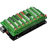 Electronics-Salon Screw Terminal Block Breakout Module, for Arduino MEGA-2560 R3.