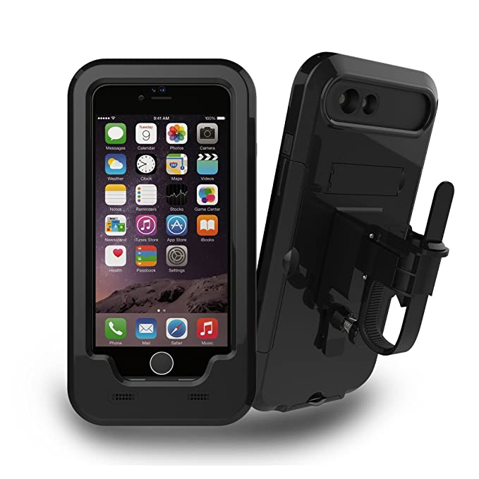 separation shoes 0a6be 07d41 iPhone 6/6S Plus Bike Mount, IFCASE Sport Waterproof Bike/Bicycle  Motorcycle Handlebar Mount Holder Case for iPhone 6/6S Plus