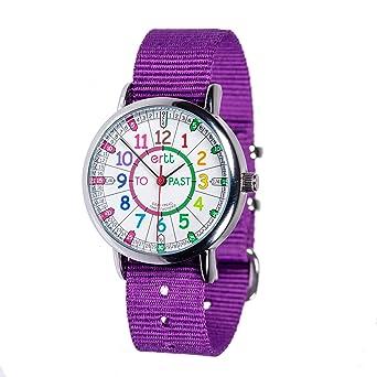 Reloj infantil EasyRead Time Teacher: para aprender a decir la hora en inglés utilizando las