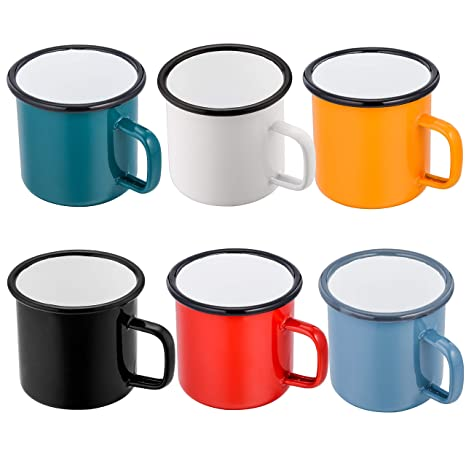 Camping Cup Mug Drinking Coffee Tea Beer With Case Ideal For Camping Holiday Picnic 1 Set Of 4 Stainless Steel Cover Mug Camping & Hiking Campcookingsupplies