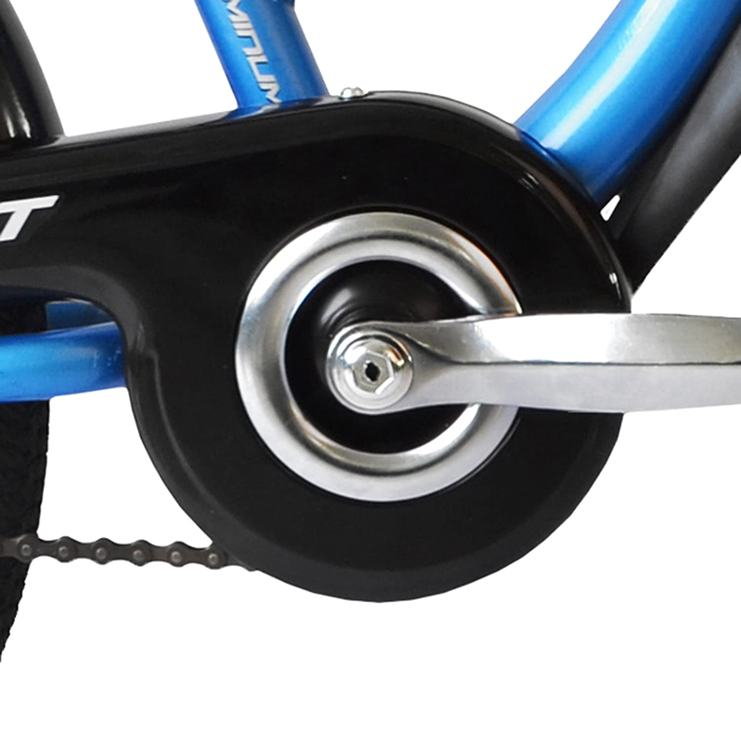 81fbbf6a033 WeeRide Pro Pilot Aluminium Tagalong Trailer Bike - Blue: Amazon.co.uk:  Sports & Outdoors