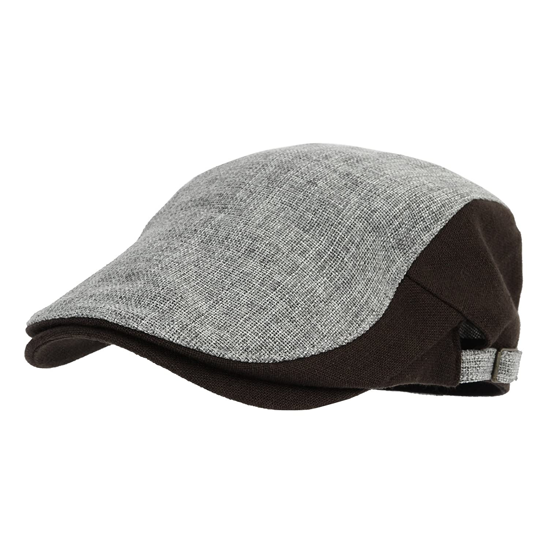 WITHMOONS Coppola Cappello Irish Gatsby Two Tone Block Summer Newsboy Hat  Flat Cap AC3046 AC3046Beige 6eb0400411f0