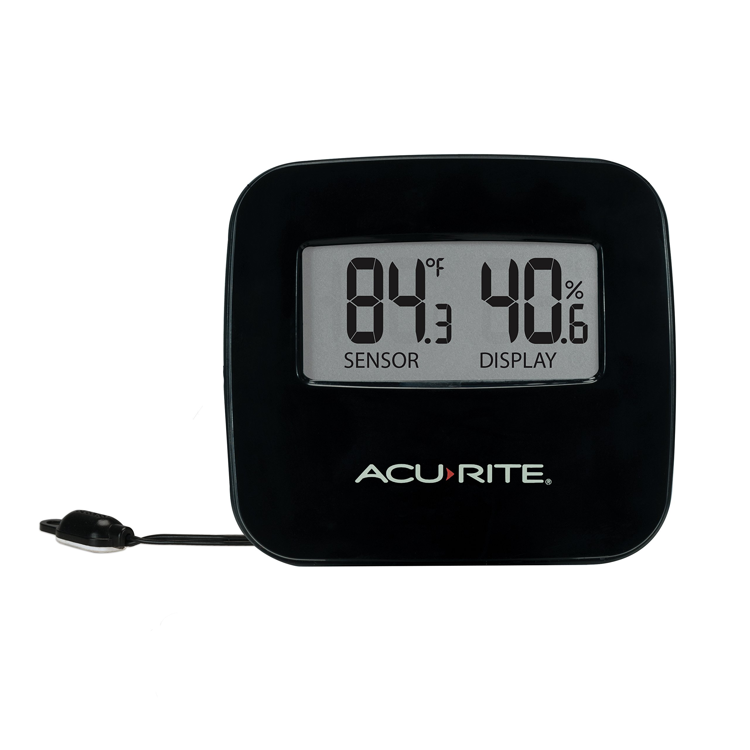 AcuRite 02067M Digital Thermometer with Humidity & Wired Temperature Sensor by AcuRite