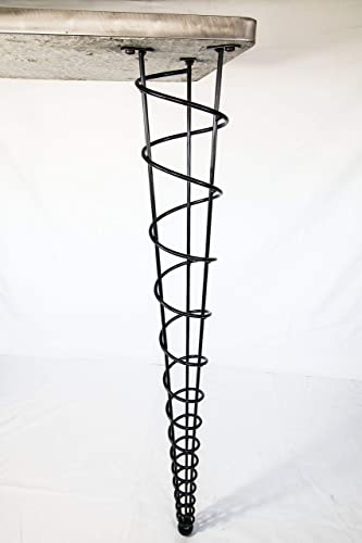 Amazon Com Bar Height Table Legs Modern 40 Inch Height