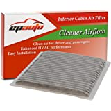EPAuto CP846 (CF9846A) Subaru / Toyota Replacement Premium Cabin Air Filter includes Activated Carbon