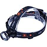 Boruit Zoomable Waterproof Cree Xm-l T6 LED Headlamp Torch Flashlight
