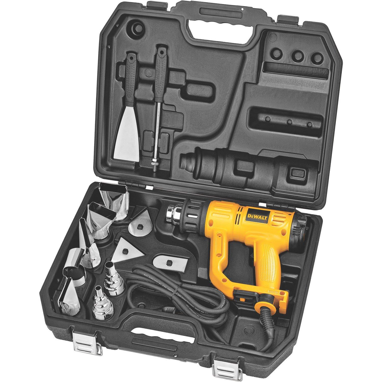 DEWALT Heat Gun with LCD Display & Hard Case/Accessory Kit (D26960K) by DEWALT