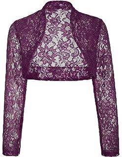1894c91fe Amazon.com  TheMogan Women s Sheer Stretch Bolero Shrug Crop Dress ...
