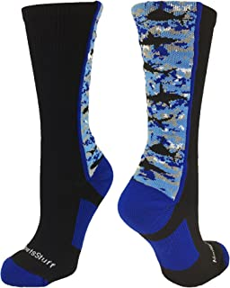 product image for MadSportsStuff Digital Camo Shark Socks Crew