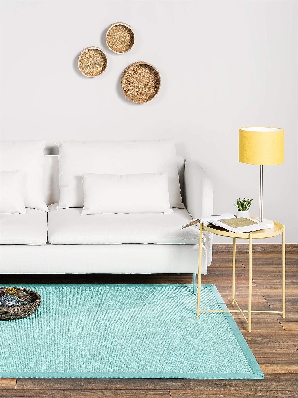 Benuta Sisal Teppich mit mit mit Bordüre Rot 120x180 cm   Naturfaserteppich für Flur und Wohnzimmer B07JVV8PFW Teppiche 6df7c7
