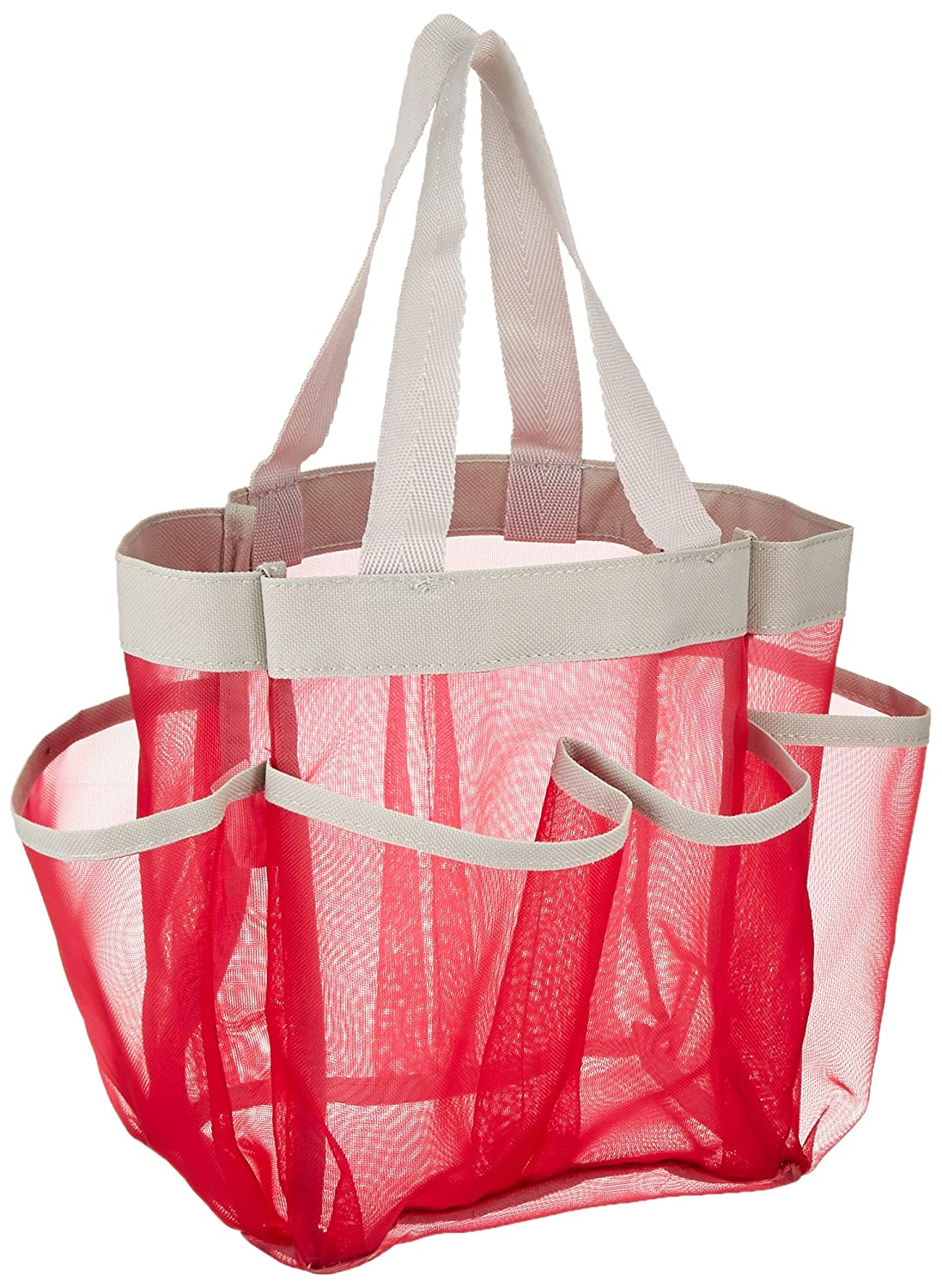 Honey-Can-Do SFT-06967 Quick Dry Shower Tote, Grey