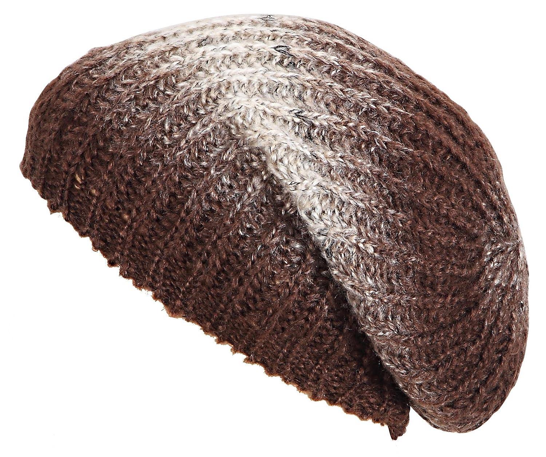 Strickbeanie - wunderschöne Strickmütze für Sie und Ihn - Melange-Muster, die Farben laufen wunderschön ineinander über , Wintermütze unisex Skimütze Wintermütze