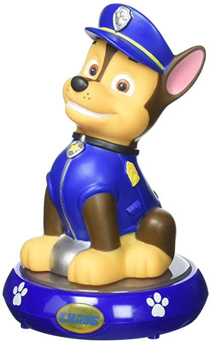 Amazon.com  Nickelodeon PAW Patrol Chase Figural Night Light  Toys ... d9ecbfbae0f1