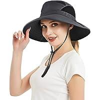 EINSKEY Unisex 360 ° protección Solar de Verano al Aire Libre de Pesca Tapa de Cuello Frente a la Solapa Sombrero de Ancho Borde