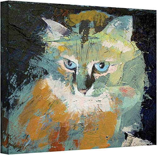 Art Wall Himalayan Cat Gallery Wrapped Canvas Art