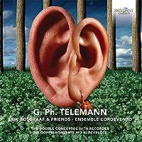 Telemann: Double Concertos For Recorder