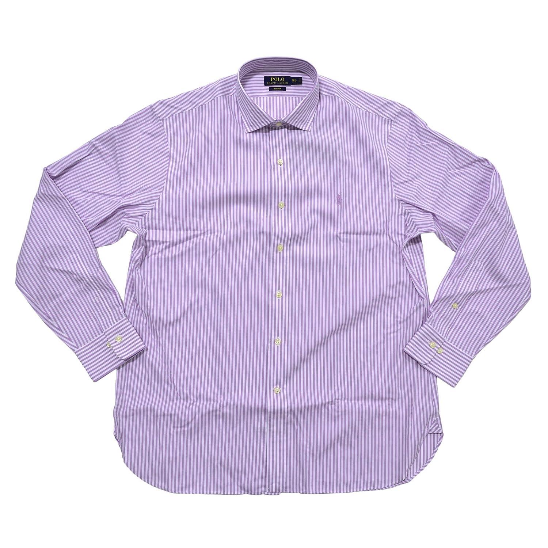 Polo Ralph Lauren Mens Non Iron Dress Shirt 16 12 3233 Purple