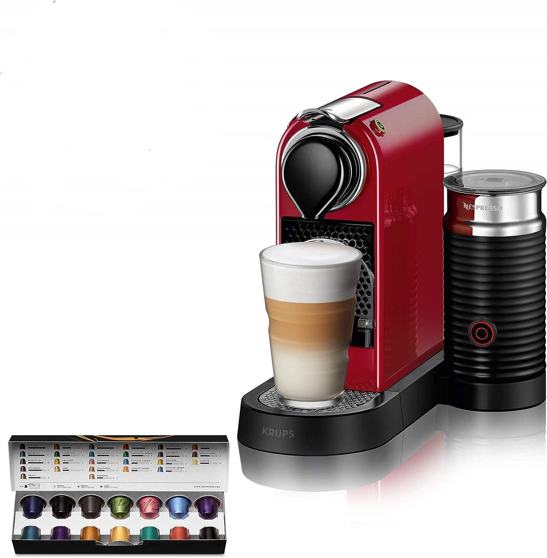 Nespresso Citiz XN7615 Roja EU, acero inoxidable, Citiz&Milk ...